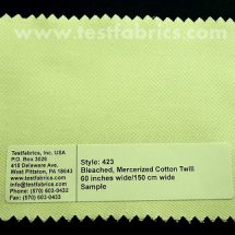 Mercerized Cotton Twill