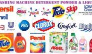 Washing Machine Detergent Powder & Liquid