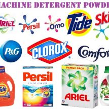 Washing Machine Detergent Powder & Liquid