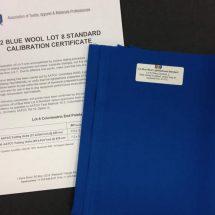 Blue Wool Lightfastness Standard